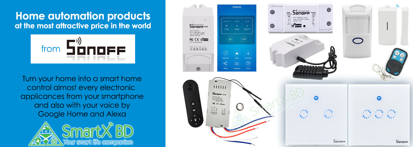 Sonoff Smart Home Products
