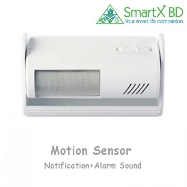 PIR Motion Sensor with Alarm and Doorbell