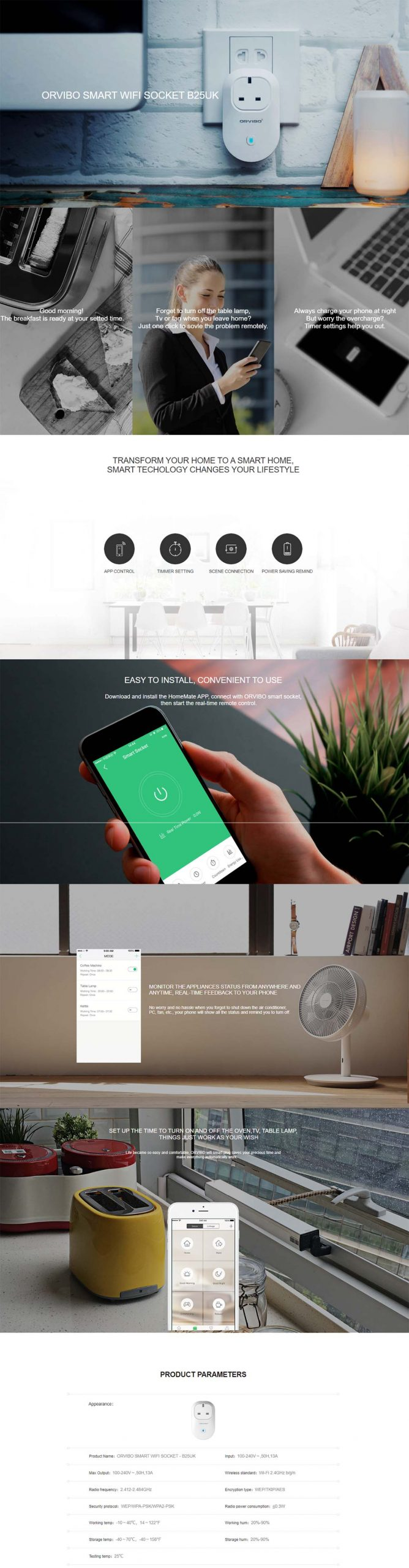 ORVIBO Smart WiFi Plug