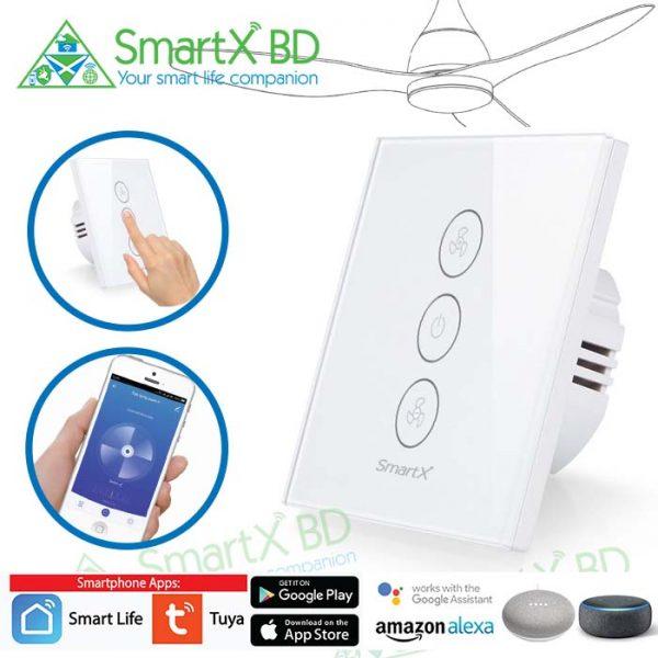 Fan Switch & Dimmer WiFi SmartX