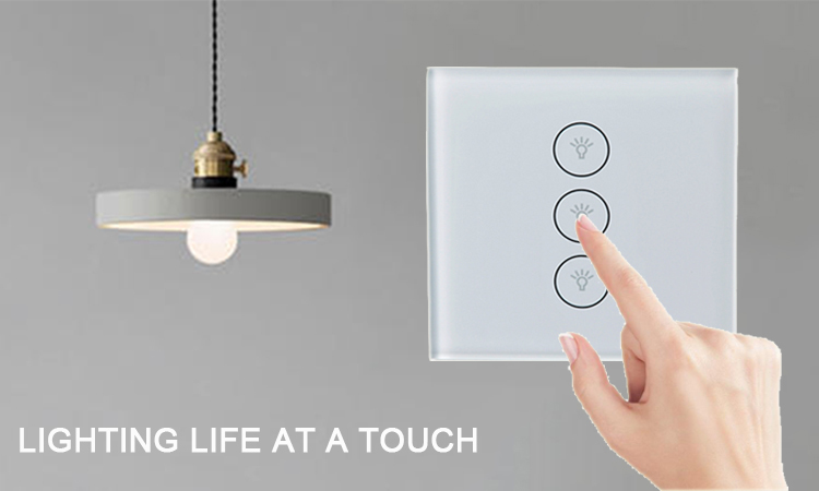 3 Gang WiFi Smart Touch Switch