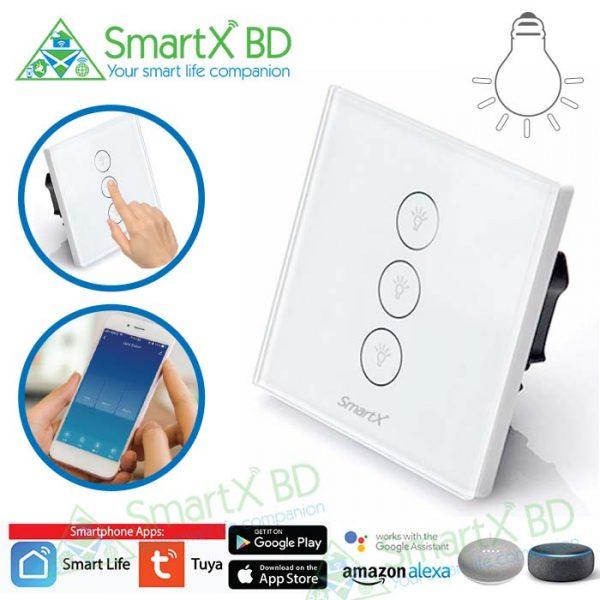 3 Gang WiFi SmartX