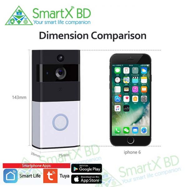 SmartX WiFi Video Doorbell