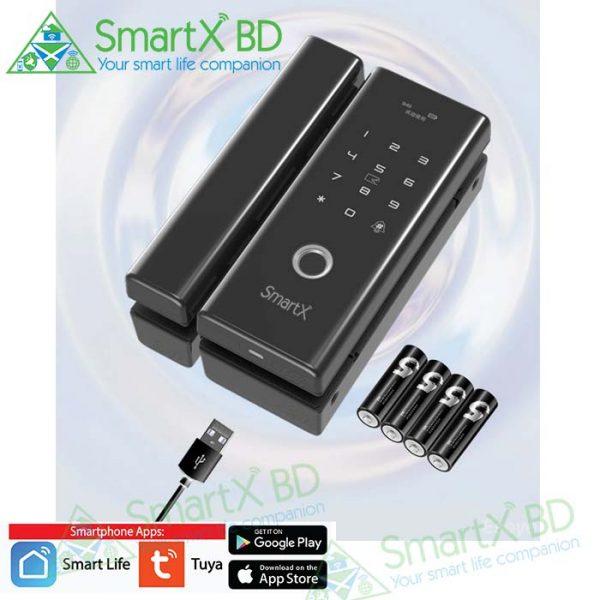 SmartX WiFi Glass Door Lock